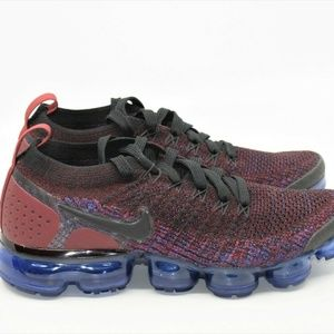 Nike Air Vapormax Flyknit 2 Team Red Racer Blue